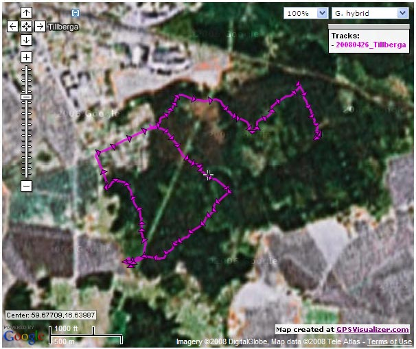 About GPS tracks