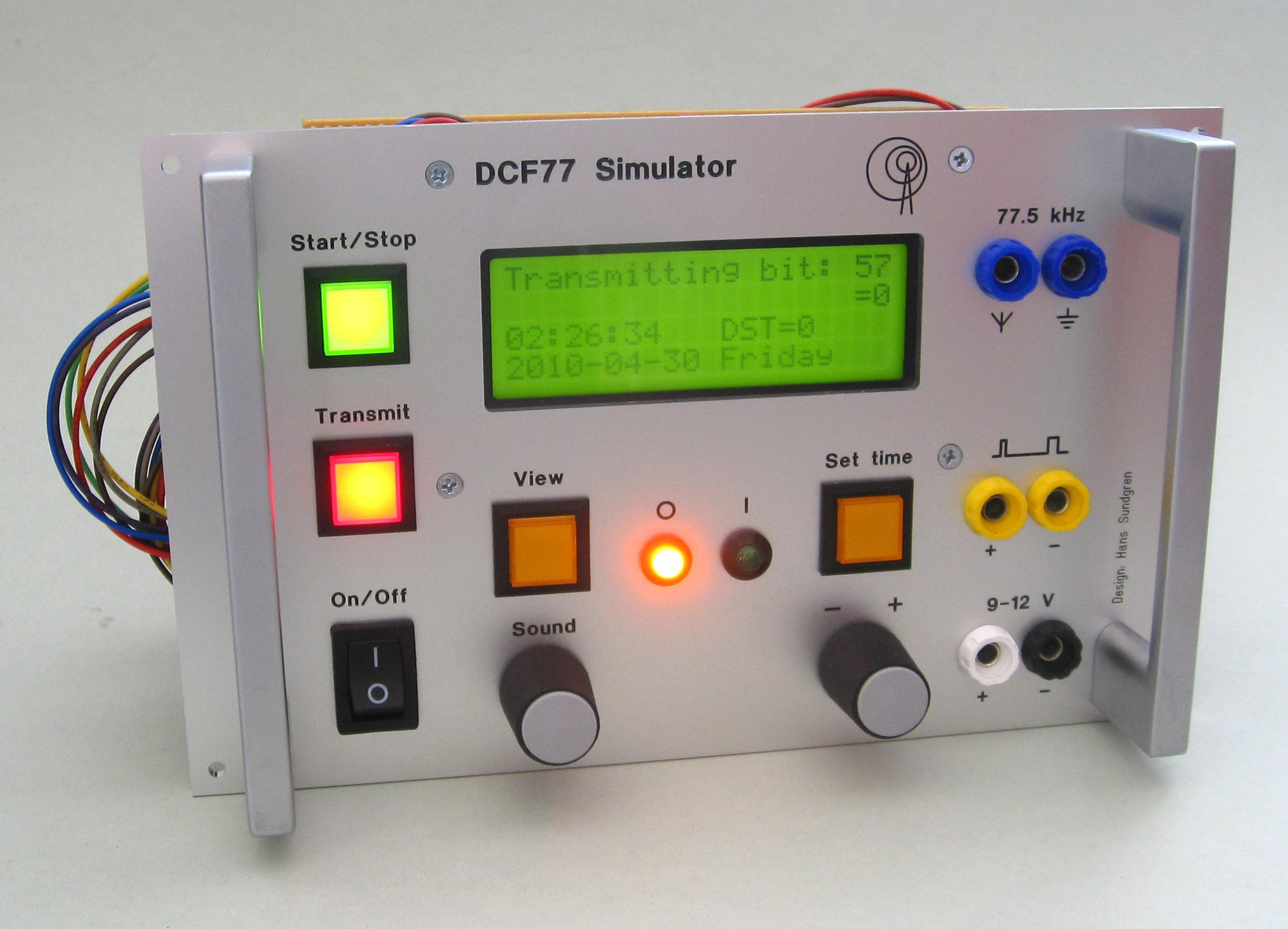 Phenomenal Dcf77 Simulator Wiring 101 Vieworaxxcnl