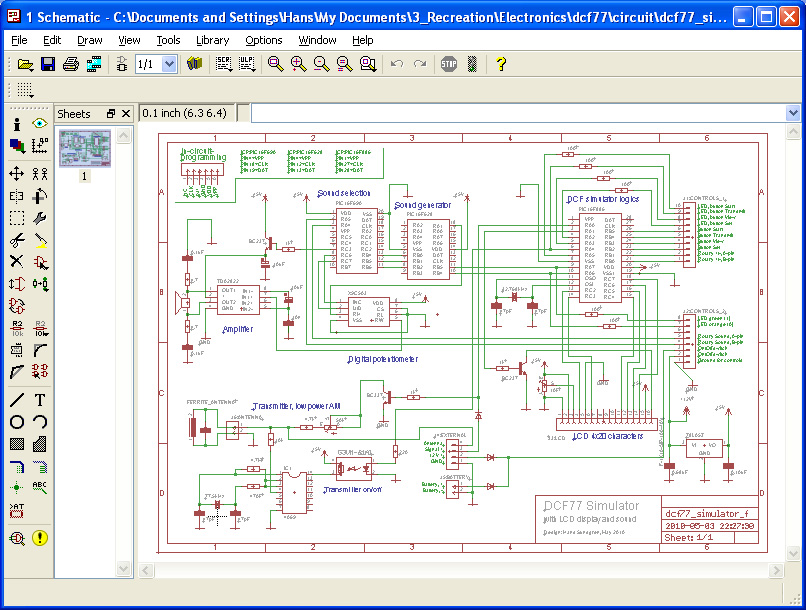 Eagle Circuit Simulation Software - Wiring Diagram & Electricity ...